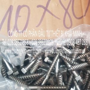 Vít phong Inox 304 M10x80